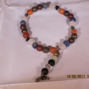 Meditation beads made with stone
